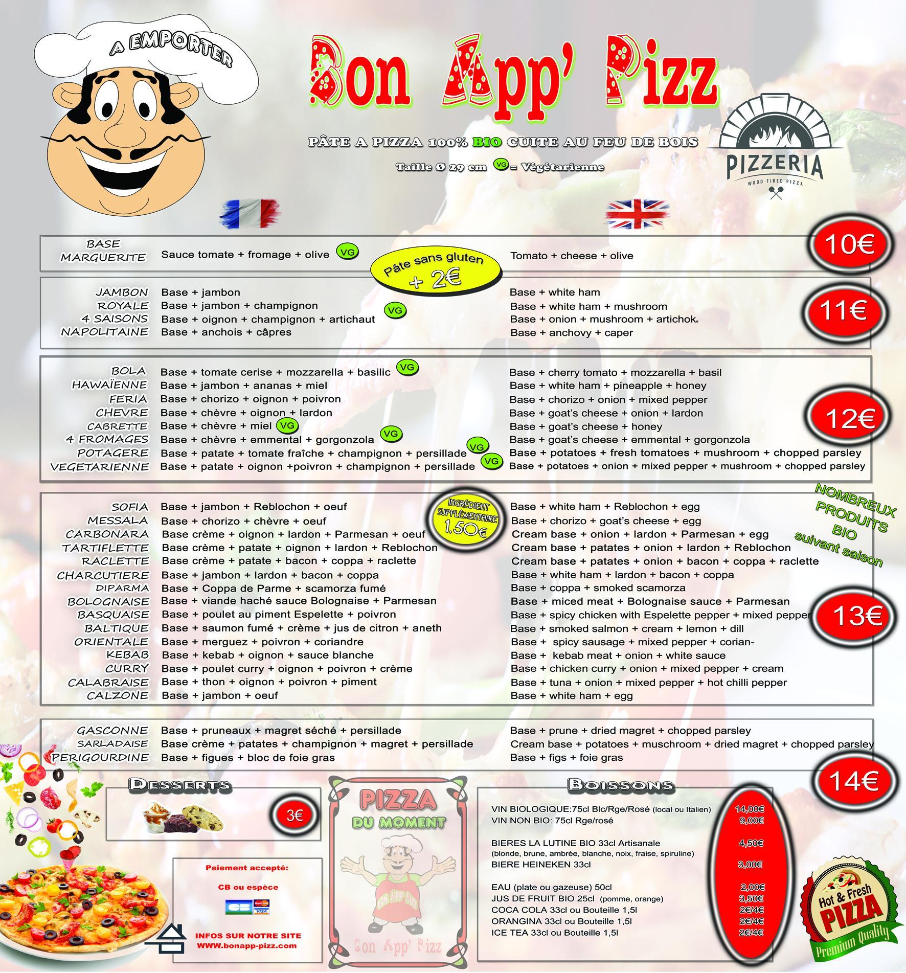 Nouveau menu mini